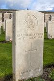 Tyne cot cemetery à ypres guerre mondiale belgique flandre — Photo
