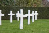 American cemetery Flanders field Belgium Waregem — Stock Photo