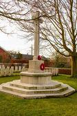 Cimitero guerra mondiale Fiandre campi Belgio — Foto Stock