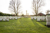 Cemetery world war flanders fields Belgium — Stock Photo