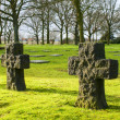 Stock Photo: Germcemetery friedhof in flanders fields menen belgium