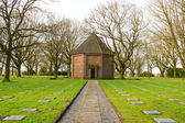 German cemetery friedhof in flanders fields menen belgium — Foto de Stock