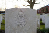 Great world war 1 flanders fields belgium Cemetery — Stock Photo