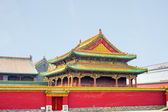 Forbidden city Beijing Shenyang Imperial Palace China — Stock Photo