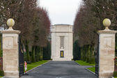 Flanders field American cemetery in Waregem Belgium — Stock Photo