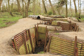 Trenches in Flanders Fields Ypres great world war one Hill 62 — Zdjęcie stockowe