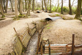 Trenches in Flanders Fields Ypres great world war one Hill 62 — Stock fotografie