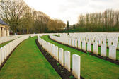 Wood Cemetery great world war one flanders Belgium — Stok fotoğraf