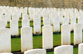 Cemetery great first world war  flanders Belgium — Stock Photo