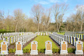 Cemetery belgian soldiers world war one — Stock Photo
