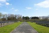 Belgium world war one cemetery in the Depanne — Stock Photo