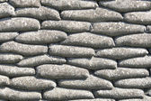 Background sandbags WW1 world war Belgium flanders Fields — Foto Stock