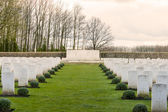 Soldier Cemetery world war one flanders Belgium — Stock Photo