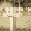 French cemetery from the First World War in Flanders belgium. — Stock Photo #46556823