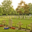 French cemetery from the First World War in Flanders belgium. — Stock Photo #46557003
