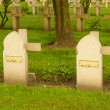 Tombstone Muslim soldiers killed in World War I — Stock Photo #46557103