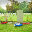 French cemetery from the First World War in Flanders belgium. — Stock Photo #46557289