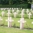 French cemetery from the First World War in Flanders belgium. — Stock Photo #46557313