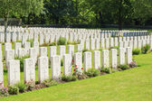 Buttes New British Cemetery world war 1 — Stock Photo