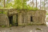 Bunker de 1 guerre mondiale dans les flandres — Photo