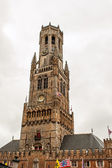 Old Church in Belgium Flanders City Bruges — Stock Photo