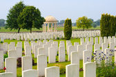 Bedford House Cemetery world war one Ypres Flander Belgium — 图库照片