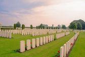 Bedford House Cemetery world war one Ypres Flander Belgium — Stock Photo