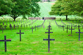 German cemetery of world war one in France — ストック写真