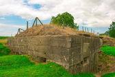 German bunker of world war one Belgium Flanders fields — ストック写真