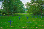 German cemetery of world war one in France — Stock fotografie
