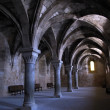 Arches of the monastery — Stock Photo