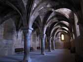Arches of the monastery — Foto Stock