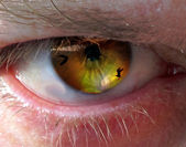 Man's eye — Stock fotografie