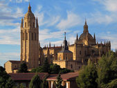 Cattedrale di segovia — Foto Stock