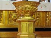 Pila bautismal — Foto de Stock