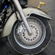 Stock Photo: MOTO WHEEL