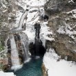 Waterfall in snow — Stock Photo #35067011