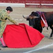 Stock Photo: Bullfight