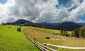 Beautiful landscape, village — Stock Photo