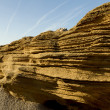 Layered rock — Foto de Stock