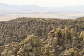 Cliffs in Chiricahua — Stock Photo