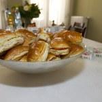 Sandwich lunch — Stock Photo