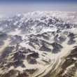 Stock Photo: Mt McKinley from air