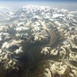 Stock Photo: Mt McKinley from the air