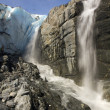 Worthington glacier — Stockfoto