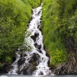 Stock Photo: Little waterfall