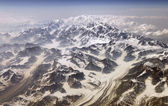 Mt McKinley from the air — Stockfoto