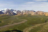 Scenic view Denali — Stock Photo