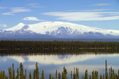 Mt Wrangell — Stockfoto