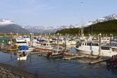 Valdez harbor — Stockfoto